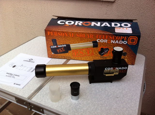 Coronado PST Sonnenteleskop
