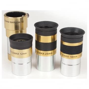Coronado Okularset Cemax-H-alpha-1-25-