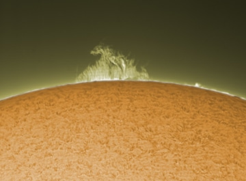 Beispielaufnahme 2 Coronado Solar Max II 90mm